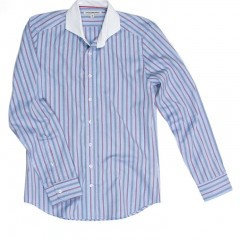 Heath Blue Stripe