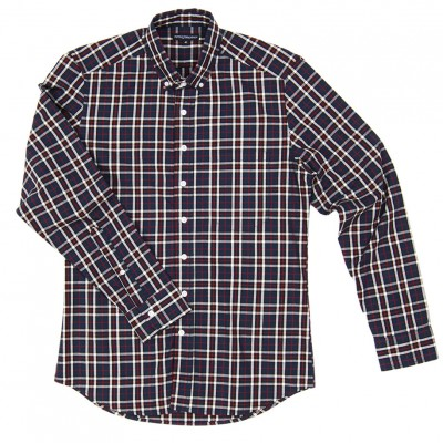 Knox Navy Plaid