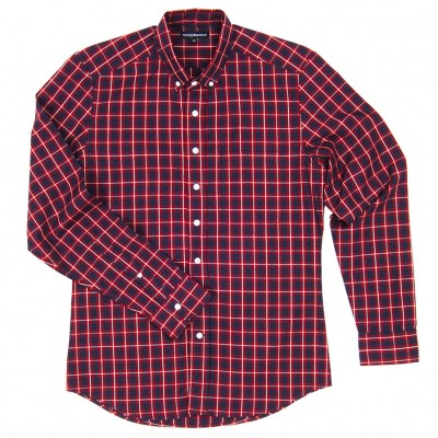 Knox Red Plaid
